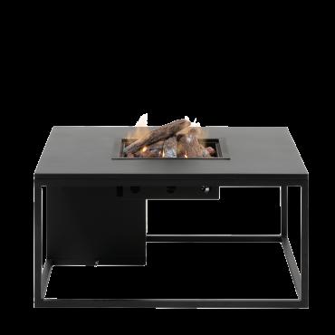 Cosiloft 100 lounge table black / black