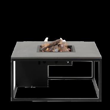 Cosiloft 100 lounge table black / grey