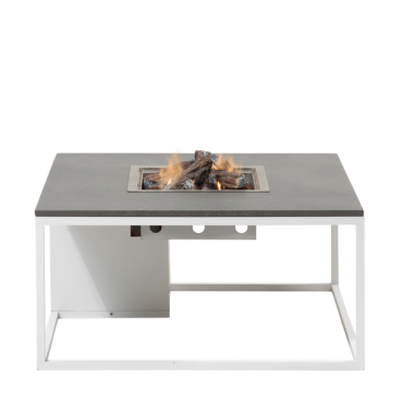 Cosiloft 100 lounge table white / grey