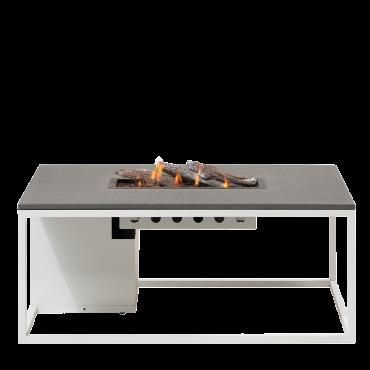 Cosiloft 120 lounge table white / grey
